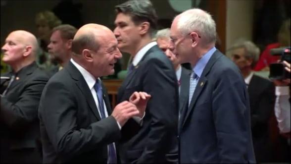 Buget UE: Basescu - Romania a obtinut o crestere de 18%