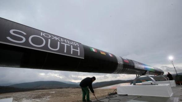 Bulgaria a suspendat orice operatiune legata de South Stream