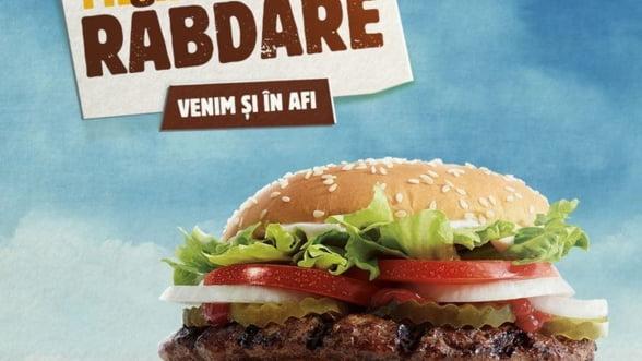 Burger King deschide cel de-al doilea restaurant din Romania, in AFI Cotroceni