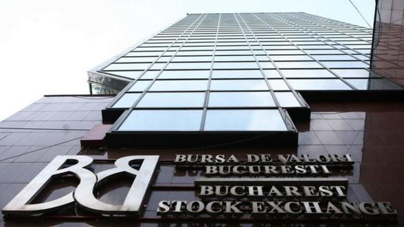 Bursa de Valori Bucuresti: Dupa primul sfert de ora toti indicii inregistrau scaderi