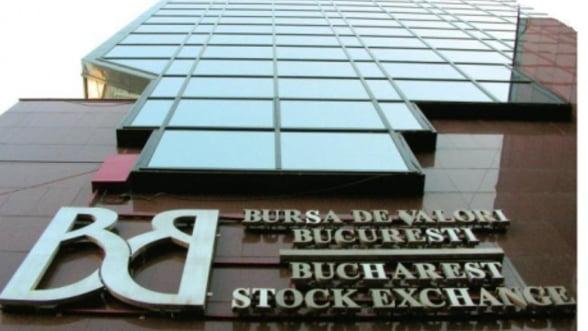 Bursa de Valori Bucuresti a trecut pe rosu dupa primul sfert de ora