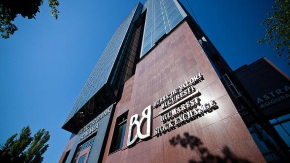 Bursa de la Bucuresti, rulaj de 9,67 milioane de lei