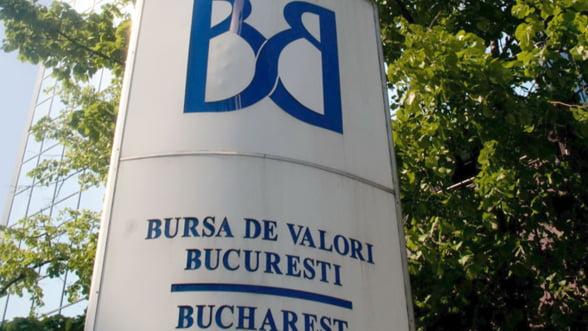 Bursa de la Bucuresti a deschis sedinta de marti pe rosu