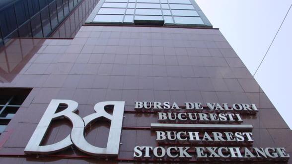 Bursa de la Bucuresti a inchis sedinta de vineri pe rosu