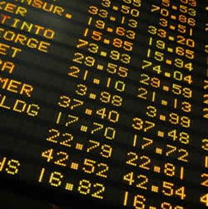 Bursa de la New York, la minimele ultimilor cinci ani