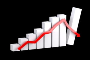 Bursa din New York s-a prabusit din nou. Dow Jones are a doua cea mai mare scadere intr-o singura zi din istoria sa