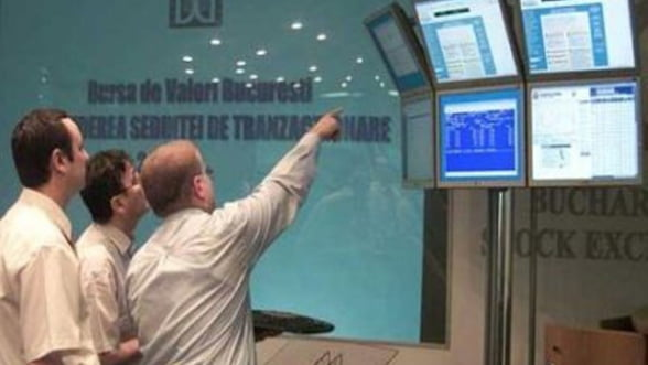 Bursa la maximul ultimei luni, pe fondul tranzactiilor cu actiuni Fondul Prorpietatea