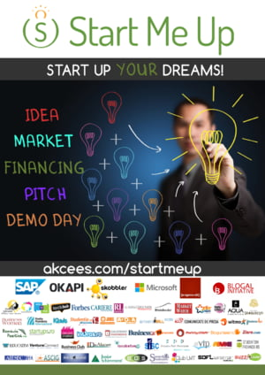 Burse Start Me Up pentru tinerii pasionati de antreprenoriat