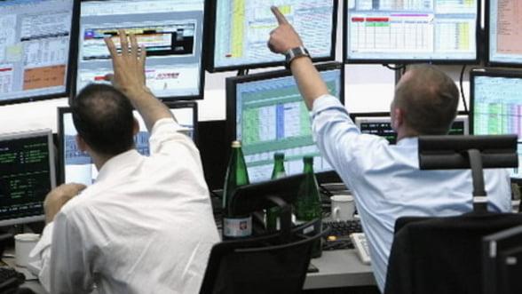 Bursele europene au deschis in crestere luni