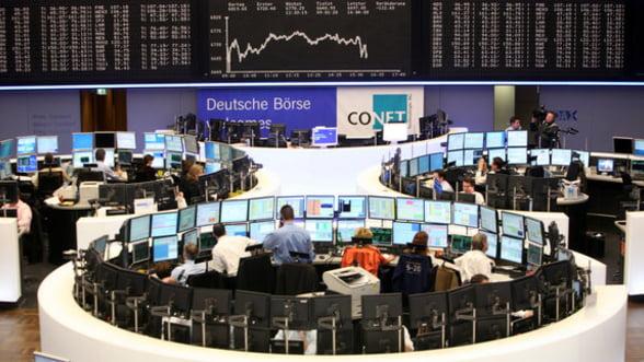 Bursele europene au deschis luni in scadere, pe fondul incetinirii cresterii economice a Chinei