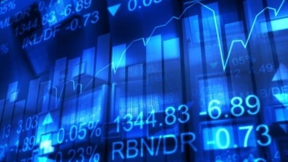 Bursele europene au deschis luni in scadere usoara