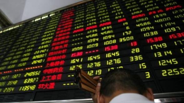 Bursele europene au scazut la minimul acestei saptamani