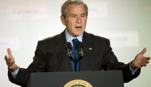 Bush, increzator pe termen lung, incearca sa reduca efectele crizei financiare