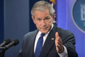 Bush a discutat cu Brown, Merkel si Sarkozy despre coordonarea eforturilor in criza financiara