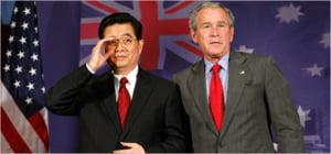 Bush a discutat cu Hu Jintao despre criza financiara