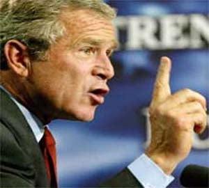 Bush avertizeaza ca intreaga economie americana este in pericol