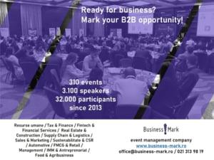 BusinessMark a organizat 60 de evenimente in 2019