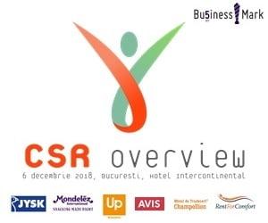 BusinessMark organizeaza evenimentul CSR OVERVIEW 2018