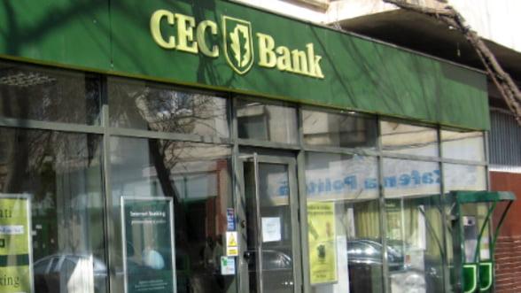 CEC Bank a acordat credite IMM cu garantii de la stat de 2 milioane de lei in doua luni