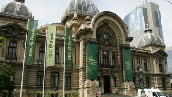 CEC Bank si-a dublat profitul in anul 2013