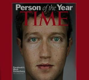 CEO-ul Facebook, omul anului 2010