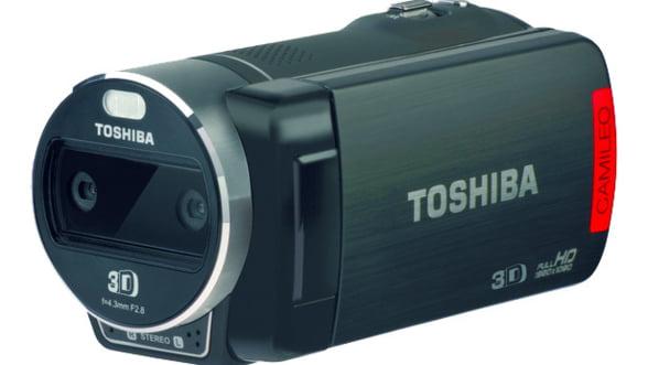 CES 2012: Toshiba a lansat prima sa camera video 3D
