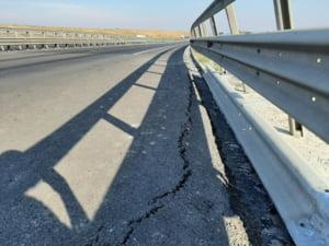 CNAIR nu stie inca de ce se crapa autostrada dintre Cunta si Saliste, desi a avut 5 ani pentru a afla