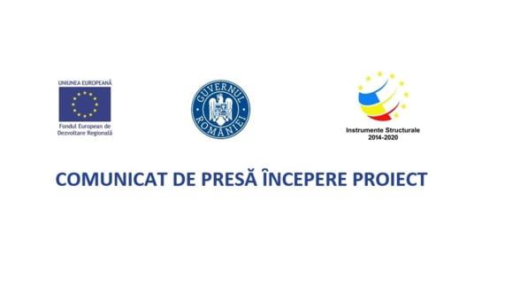 COMUNICAT DE PRESA INCEPERE PROIECT