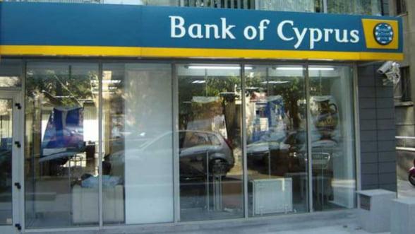 CRIZA DIN CIPRU. Cat pierd deponentii cu mai mult de 100.000 de euro la Bank of Cyprus