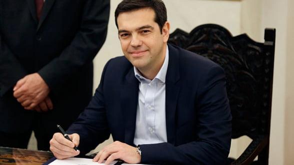 Cacealmaua greceasca, la apogeu. Istoric: Tsipras nu e primul premier elen care blufeaza
