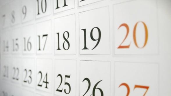 Calendarul obligatiilor fiscale: Vezi toate termenele pentru 2013