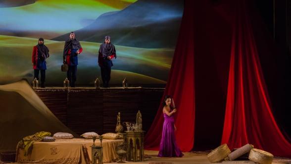 Calin Bratescu, invitat special in spectacolul Samson si Dalila de pe scena Operei Nationale Bucuresti