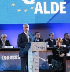 Calin Popescu Tariceanu, ales presedintele ALDE
