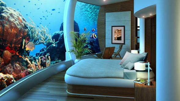 "Camere de hotel neobisnuite: ""Elicopter"", ""Poseidon"" sau ""007"""