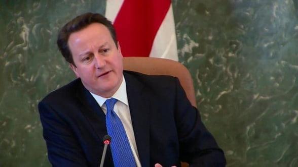 Cameron, ingrijorat de limitarea bonusurilor bancherilor