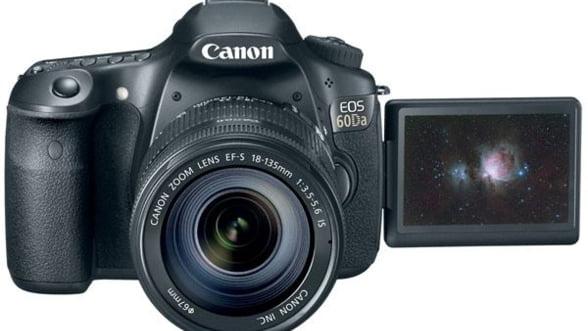 Canon a lansat o camera DSLR pentru pasionatii de astronomie