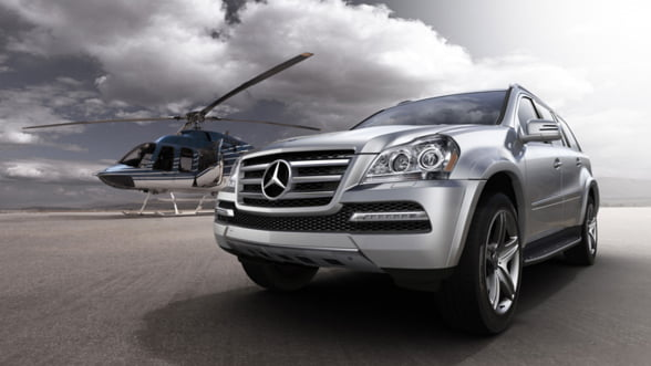 Caracteristicile uimitoare ale noii generatii Mercedes-Benz GL-Class