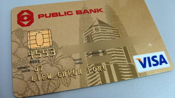 Cardul de credit, produsul-vedeta al sistemului bancar in 2012