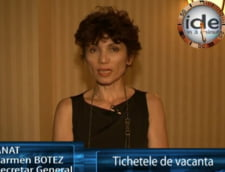 Carmen Botez: tichetele de vacanta