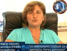 Carmen Pavel: un antreprenor trebuie sa-si gaseeasca mereu provocari
