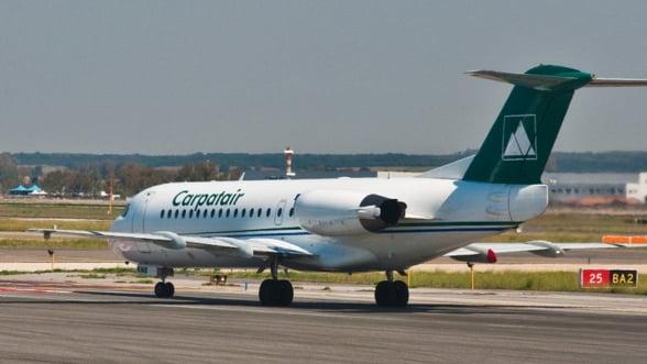 Carpatair a intrat in insolventa, din cauza daunelor din litigiul cu Aeroportul Timisoara