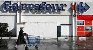 Carrefour a inregistrat un profit net de 1,87 miliarde euro in 2007