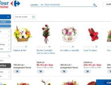 Carrefour cauta furnizori de flori, aparate foto, vinuri sau parfumuri, pentru magazinul online