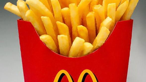 Cartofii prajiti de la McDonalds au ajuns pe masa CNA