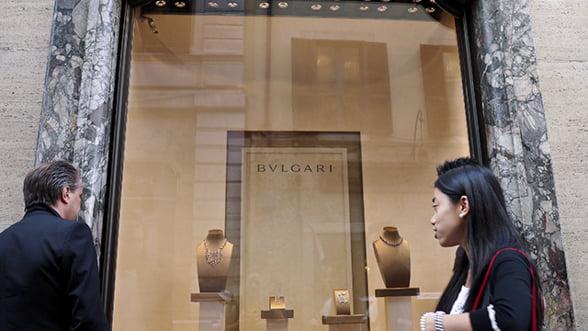 Casa de lux Bulgari, acuzata de evaziune fiscala. Sechestru pe bunuri de 46 milioane de euro
