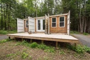 Casa din containere ieftina si functionala, fara factura la lumina sau caldura