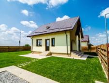 Casele au ajuns mai ieftine decat apartamentele cu 3 camere