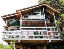 Casele spectaculoase construite din gunoaie