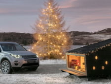 Casuta lui Mos Craciun incape acum intr-un Land Rover!