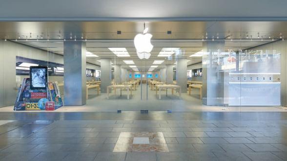 Cat au crescut actiunile Apple dupa lansarea iPhone 5